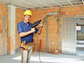Handyman portrait — Stock Photo