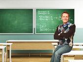 Confident teacher — Stock Photo