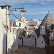 Alberobello town - Stock Photo