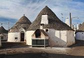 Alberobello town — Stock Photo