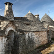 Trulli in alberobello - Stock Photo