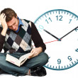 No time to study - Stock Photo