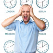 Stock Photo: Anytime stress