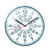 48 ours clock — Stock Photo
