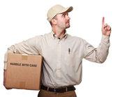 送货的男子 — 图库照片