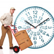 48 ours clock shipping — Stock Photo