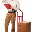 Delivery man portrait — Stock Photo #4724873