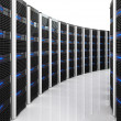 Server 3d background — Stockfoto