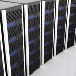 Server 3d — Stock Photo