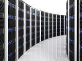 Server 3d background — Foto Stock