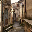 San donato di ninea old houses detail — Stock Photo