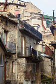 Detail of ancient house in san donato — Stock Photo