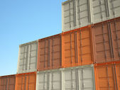 3d container — Stock Photo