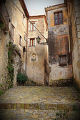 Ancient house in scalea — Stock Photo