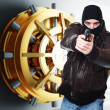 Thief at work — Stock Photo #4914894