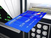 Cash machine 3d — Stock Photo