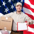 American worker — Stock Photo #5240389