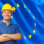 European worker — Stock Photo