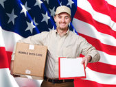 American worker — Stock Photo