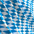 Bavaria flag 3d - Stock Photo