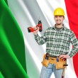 Italian worker — Stock Photo