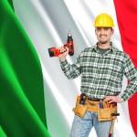 Italian worker — Stock Photo