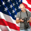 American photographer — Stock Photo