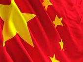 China flag — Stock Photo