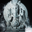 Ganesh indian god - Stock Photo