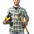 Stock Photo: Smiling worker