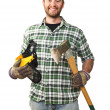 Smiling worker — Stock Photo