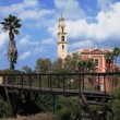 Stock Photo: The bridge in the city of Jafo