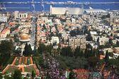 Kind on the city of Haifa — Stock Photo