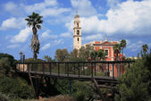 The bridge in the city of Jafo — Stock Photo