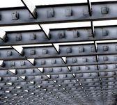 Vigas do telhado de ferro — Foto Stock
