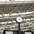 Stock Photo: Large Train Station Clock