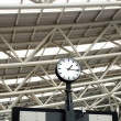Stok fotoğraf: Large Train Station Clock