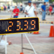Sporting Event Timer - Stock Photo