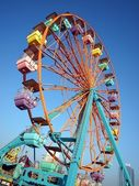 Small Colorful Ferris Wheel — Stock Photo