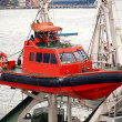 Coastguard Rescue Boat — Stock Photo