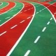 Athletic Track and Field Markings — Stock Photo #5345433