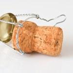 Champagne Cork Macro — Stock Photo #5103954