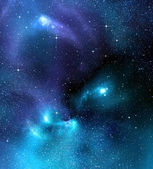 Starry background of deep outer space — Stock Photo