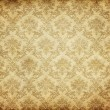 Stock Photo: Old damask wallpaper