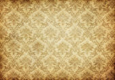 Old damask wallpaper — Stockfoto