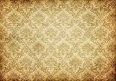 Oude damast behang — Stockfoto
