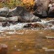 Pure clean water over rocks - Stockfoto