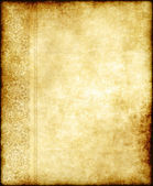 Old ornate paper parchment — Stock Photo