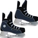 Skates — Stock Vector