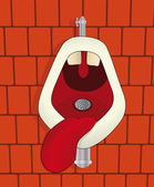 Toaleta — Wektor stockowy